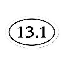 13.1.Korinna.jpg Oval Car Magnet