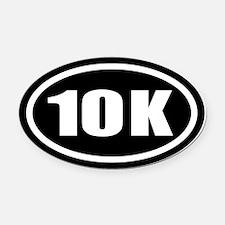 10 K Oval Car Magnet