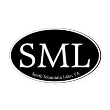 SML.ovalother.black.png Oval Car Magnet