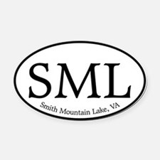 SML.ovalother.white.png Oval Car Magnet