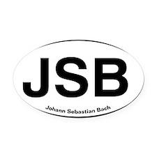 JSBlight.png Oval Car Magnet