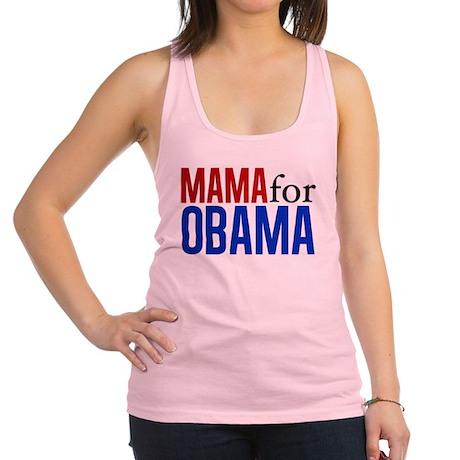 Mama for Obama Racerback Tank Top