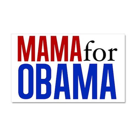 Mama for Obama Car Magnet 20 x 12