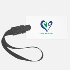 DoulasAllHeartTorquoise150.png Luggage Tag