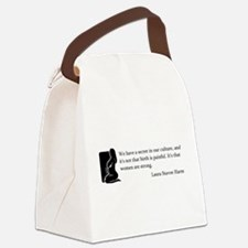 BirthStrongSilo.PNG Canvas Lunch Bag
