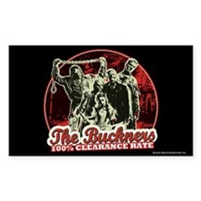Buckner's 100% Clearance Rate Decal