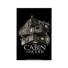 Cabin in the Woods Cube Rectangle Magnet