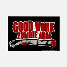 Cabin in the Woods Zombie Arm Rectangle Magnet