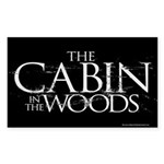 Cabin in the Woods Sticker (Rectangle)