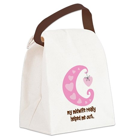 HelpOutPink.png Canvas Lunch Bag