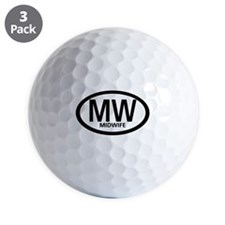 Oval Midwife Golf Ball