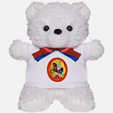 Germany Beer Label 15 Teddy Bear