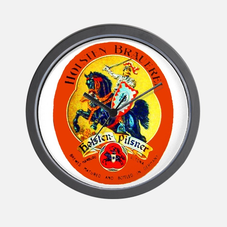 Germany Beer Label 15 Wall Clock