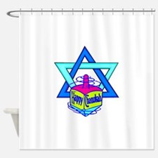 Hanukkah Oh Chanukah Shower Curtain