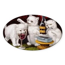 The Three Kittens Decal
