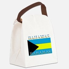 Bahamasblack.png Canvas Lunch Bag