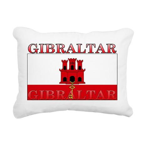 Gibraltar.jpg Rectangular Canvas Pillow