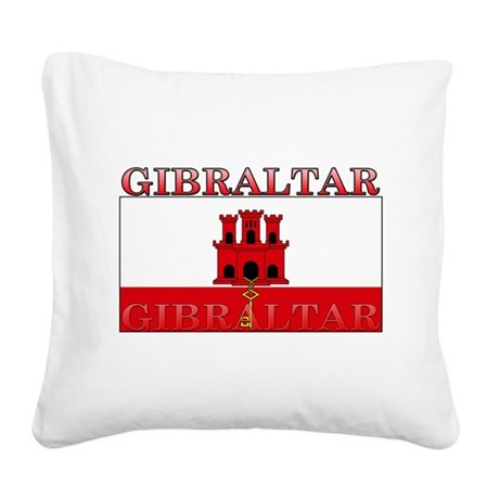 Gibraltar.jpg Square Canvas Pillow