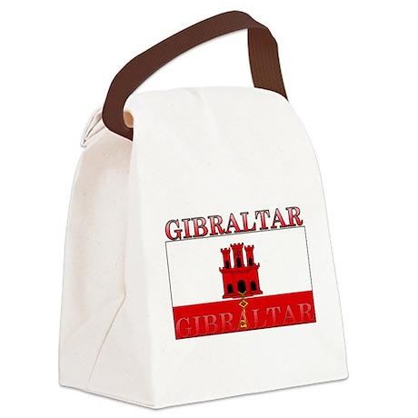 Gibraltar.jpg Canvas Lunch Bag