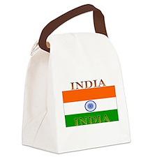 India.jpg Canvas Lunch Bag