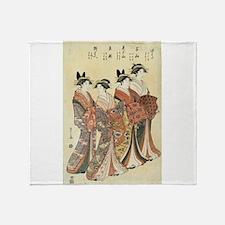 The courtesans Mitsuhata, Senzan, Misayama, Itotak