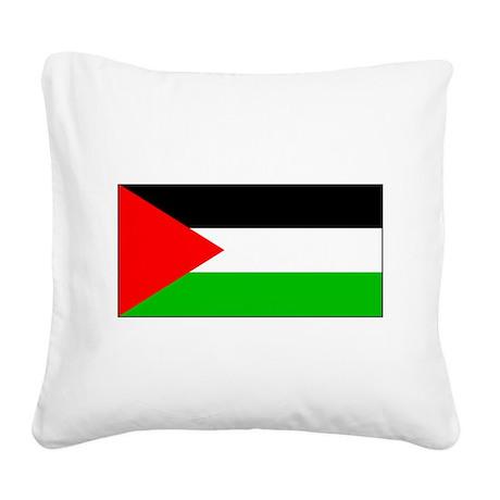 Palestineblank.jpg Square Canvas Pillow