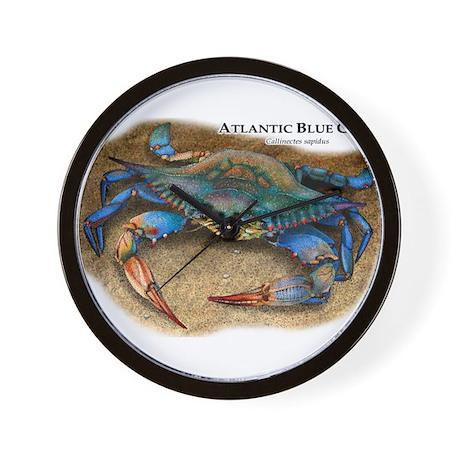 Atlantic Blue Crab Wall Clock