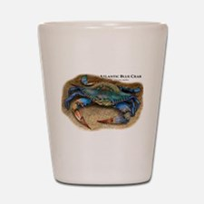 Atlantic Blue Crab Shot Glass