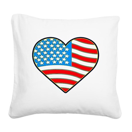 heart.png Square Canvas Pillow