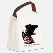 Eagle1.png Canvas Lunch Bag