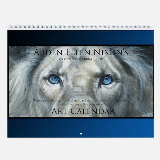 Big Cats Only Wall Calendar
