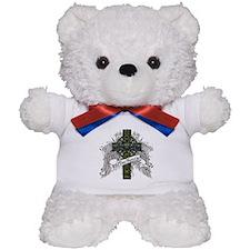 MacKenzie Tartan Cross Teddy Bear