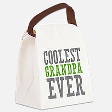 Coolest Grandpa Canvas Lunch Bag