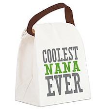 Coolest Nana Canvas Lunch Bag