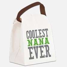 Coolest Nana Canvas Lunch Bag