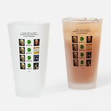 Awesome Matrix #1 Drinking Glass