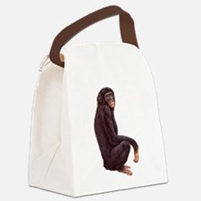 Bonobo.png Canvas Lunch Bag