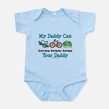 My Daddy Triathlon Baby Body Suit