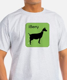 Goat-iBerry Ash Grey T-Shirt
