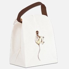 VerreauxSifaka.png Canvas Lunch Bag