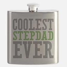 Coolest Stepdad Flask
