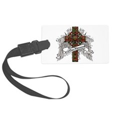 MacKinnon Tartan Cross Luggage Tag