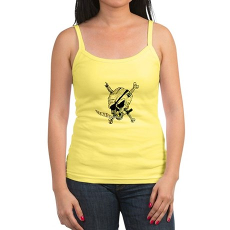 Original Skull Pirate design Jr. Spaghetti Tank