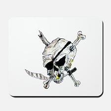 Original Skull Pirate design Mousepad