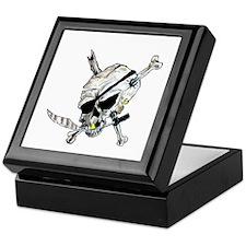 Original Skull Pirate design Keepsake Box