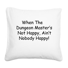 Dungeon.jpg Square Canvas Pillow