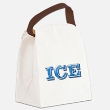 IceBlack.png Canvas Lunch Bag