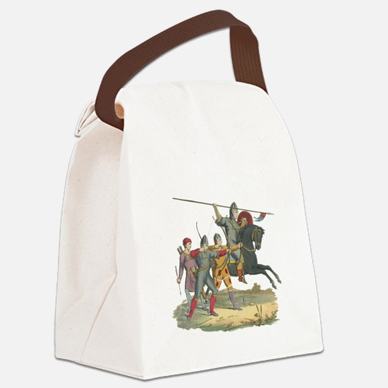3-Knights2.png Canvas Lunch Bag