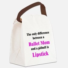2-BalletMom.png Canvas Lunch Bag