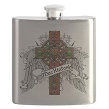MacKintosh Tartan Cross Flask